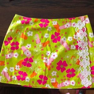 Reversible Lily Pulitzer skirt